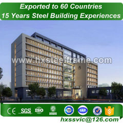 prefab hotel construction and modular commercial buildings European standard