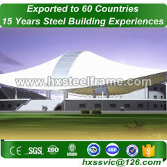 20x50 metal building made of steel fame with CE Mark produce for Kampala buyer
