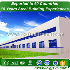 structural heavy steel construction for 30x50 steel structure building sale to Algiers