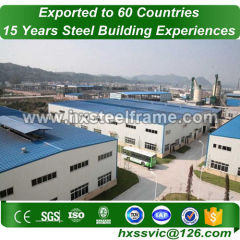 structural metal fabrication and Pre-engineered Steel Frame sale to Cambodia