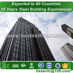 prefabricated apartment units made of steel struture with good design