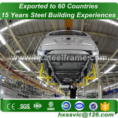 steel building workshop made of steel frame hot Sell precisely painted cut