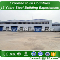 Steel Frame Logistics Warehouse made of steel framming hot Sell sale to London
