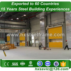 steel frame warehouse construction and steel structure warehouse wide-span