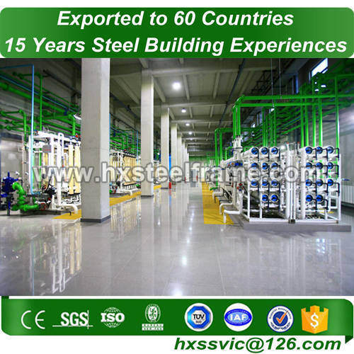 steel frame workshop and steel structure warehouse hot Sell seriously cut