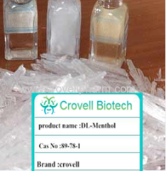DL-menthol manufacturer DL-menthol supplier Menthol crystal distributor CAS:89-78-1 factory
