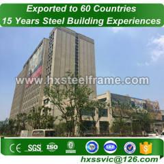 40x40 steel building and prefab steel buildings long-span to Mali customer