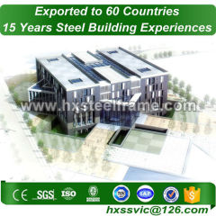 50x150 steel building and prefab steel buildings CE approved for Kabul client