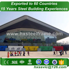 50x40 metal building and prefab steel buildings CE verified provide to Liberia