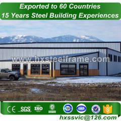 les membres d'acier de construction ont formé tous les bâtiments en métal bv ont vérifié la vente en Zambie