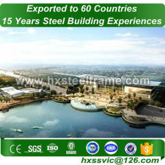 50x60 steel building and prefab steel buildings hot Sell to Congo market
