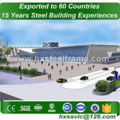 50x75 metal building and prefab steel buildings professional sale to America