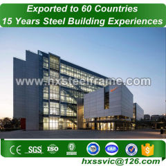 50x50 steel building and prefab steel buildings CE verified export to Rangoon