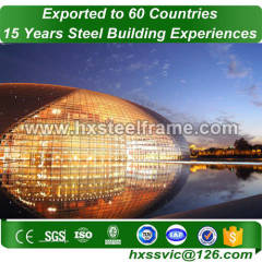quality metal buildings and metal building structure with CE carefully painted