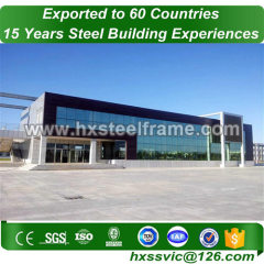 steel structure storage made of Steel Framework low cost hot sale in Kuwait