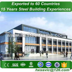 steel commercial buildings and commercial steel framed buildings ISO standard
