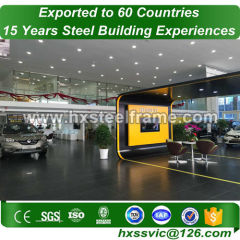 60x40 metal building and prefab steel buildings customized sell well in Canada