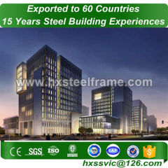 steel frame commercial buildings by light gauge metal framing sale to Laos