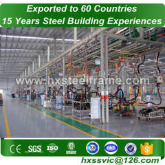 steel structure workshop and Prefab steel warehouse 2017 latest at Lima area