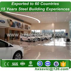 60x50 metal building and prefab steel buildings environmental sale to Malta