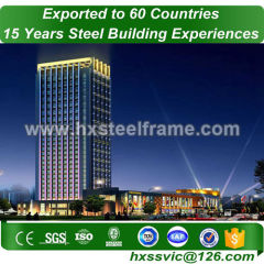 steel office building and commercial steel framed buildings wide-span