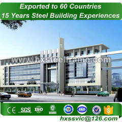 steel retail buildings and commercial steel framed buildings hot Sell