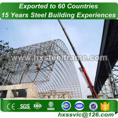 large space structures building made of steel fame pre-built at Congo area