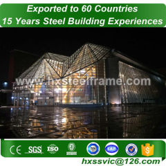 small steel framed buildings and metal building structure lower resource cost