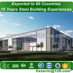 light steel and prefabricated steel structures European standard sale to Nepal