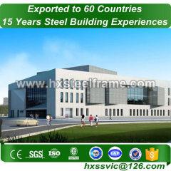 welded steel column and Heavy Steel Frame Fabrication installed in Niger