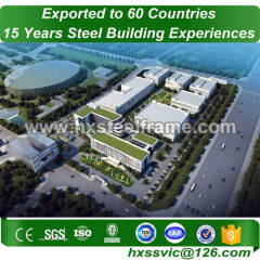 light steel structure and prefabricated steel structures sell well in Liberia