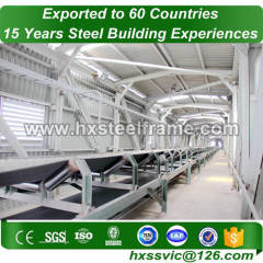 lightweight steel and prefabricated steel structures hot selling at Japan