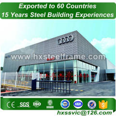 ligth steel frame and prefabricated steel structures for Europe client