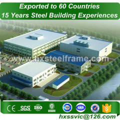 long span steel structures and prefabricated steel structures at Khartoum area