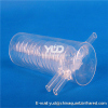 Quartz spiral tube Water treatment Clear or Milky Spiral Quartz Glass Tube for Heating