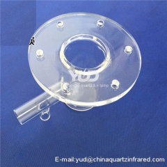 High quality quartz digestive tube with competitive price quartz digestion reaction cup
