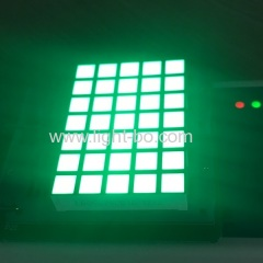 5 x 7 square dot matrix;pure green dot matrix; square dot matrix display
