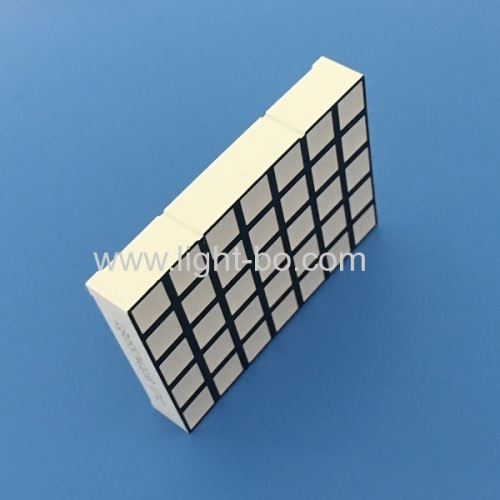 High brightness Pure Green 5mm 5 x 7 Square dot matrix led display for moving signs / message boards