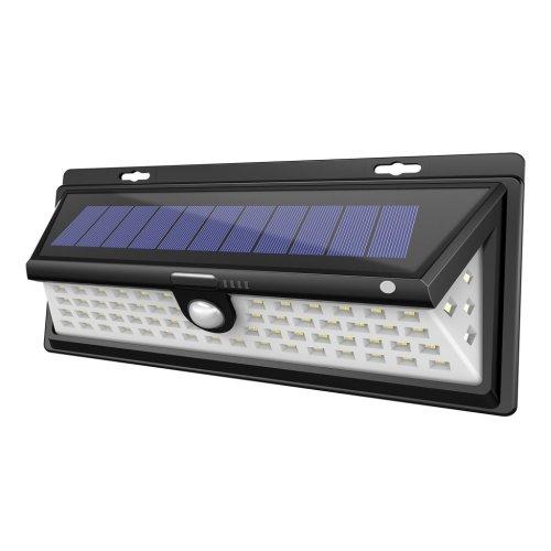 Solar Wall Mount Motion Sensor Outdoor 66 Led Landscape Lighting Auto ON/OFF Nightlight Spotlight Security Lights