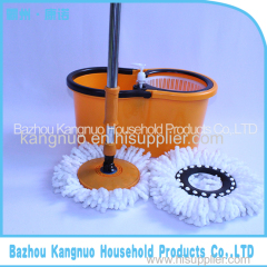 Good quality 360 rotating magic mop Dual Drive spin Mop with stainless steel bucket