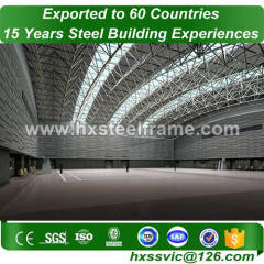 Space Frame building and Steel Structure Space Frame long-span provide to Iran