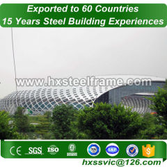 space frame column building and Steel Structure Space Frame with good design