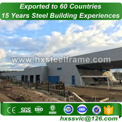 portal steel frame and Heavy Steel Frame Fabrication at the UAE area