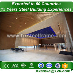span steel construction and metal building structure fireproof sale to Niamey