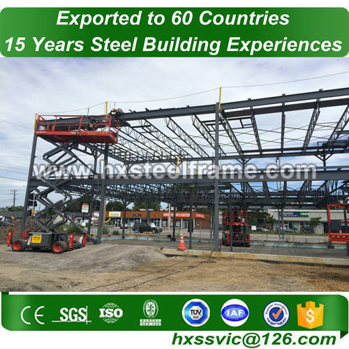space frame materials building and Steel Structure Space Frame of two story