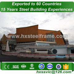 standard steel buildings and metal building structure big-Span well produced