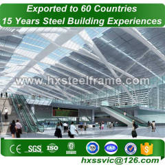Structural Steel Warehouse and Steel warehouse building with EN standard