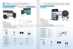Automatic Industry Door Operator Sectional Door Drives Flange Moto Direct Drives