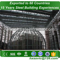 space steel frame building and space frame building light-gauge at Brazil area