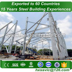 space truss span building and space frame building rust proof to Dubai market